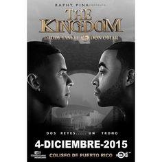 ¡¡¡ Daddy Yankee vs Don Omar #TheKingdom el sábado 4 de diciembre en el Coliseo de Puerto Rico, José Miguel Agrelot!!! :::BOLETOS A TRAVÉS DE TODOS LOS CANALES desde las 10am HOY LUNES 21 DE SEPTIEMBRE.::: DETALLES > @ticketpop