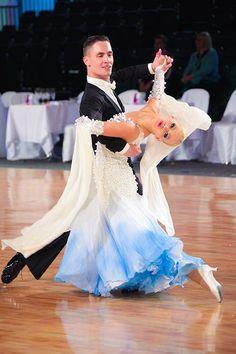 Elegant ballroom dancers   #ballroom #dancing  http://marshere.com.au/