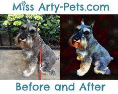 Aston!  Portrait by Miss Arty-Pets! (Anita Drieseberg)