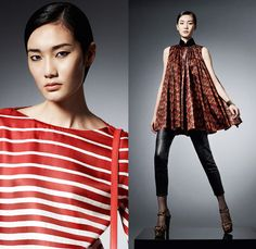Shanghai Tang 2013-2014 Fall Winter Womens Lookbook Collection: Designer Denim Jeans Fashion: Season Collections, Runways, Lookbooks and Linesheets