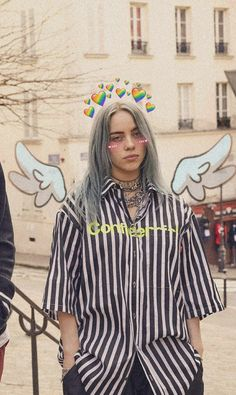 billie is seriously hot like really damn hot - ImPane Billie Eilish, Cool Girl, My Girl, Video Interview, Cute Love Memes, Queen, My Dad, Celine Dion, Beautiful People