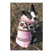 Chilly Dog Pink Aspen Dog Sweater