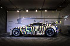 Aston Martin unveils art car colours for 2015 Le Mans 24 Hours - WEC - Autosport