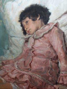 Olieverf op linnen (studie) 60 x 80 cm 2016 Replica van Ilya Repin Private…