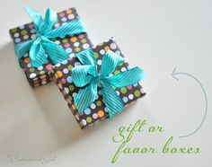 DIY Paper Treat Box Template - Free PDF Printable + Tutorial