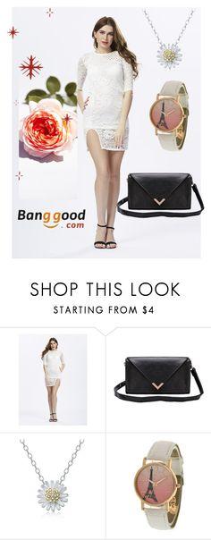 """13#Banggood"" by comicdina on Polyvore featuring moda"