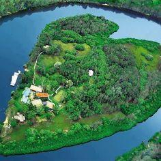 Heart Island,Australia..
