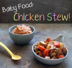 Baby food recipe   Chicken stew