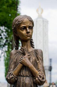 Child victim of Holodomor - Ukrainian Famine/Genocide of 1932-33