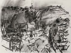 Dennis Creffield, Jerusalem Mount of Olives on ArtStack #dennis-creffield #art