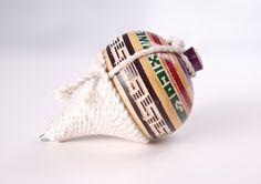 Trompo, juguete tradicional para niños de México.