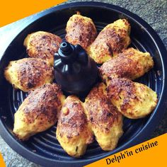 Croquettes de chou fleur dans le plateau de l'actifry 2en1 Delph, Cravings, Fries, French Toast, Food And Drink, Chicken, Cooking, Breakfast, Instant Pot