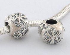 Pandora Schneeflocke Silber-Element Fj171 €31.98