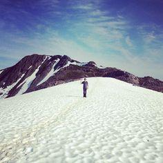 Pete says hello from Mt Roberts, near Juneau, #Alaska