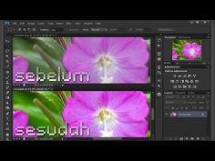 ▶ Tutorial #Photoshop Meningkatkan Saturasi Gambar - Bikin & edit foto lebih cerah