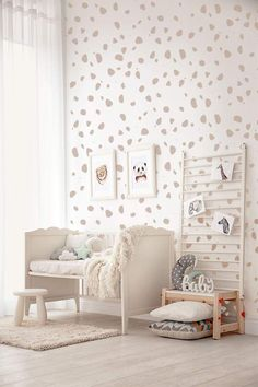 Dalmatian Spot Wall Sticker Decals Polka Dot CARAMEL FREE | Etsy Childrens Wall Decals, Nursery Wall Stickers, Vinyl Wall Stickers, Girls Wall Stickers, Polka Dot Nursery, Polka Dot Walls, Polka Dot Bedroom, Polka Dots, Baby Room Decor