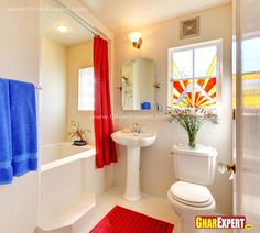 12 by 9 ft spacious bathroom w....