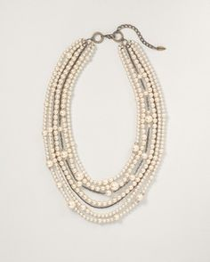 Pearly cascade necklace  $69.95  +50% Off!