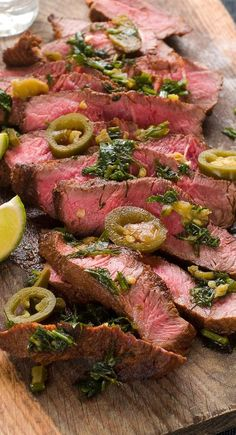 Weight Watchers Friendly Jalapeno Lime Steak Recipe - 5 WW Smart Points