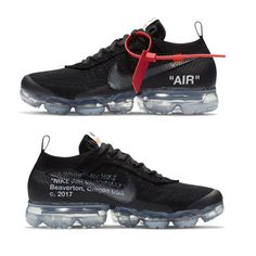 Follow @IllumiLondon for more Streetwear Collections #IllumiLondon Release des Off-White x Nike Air Vapormax Black ist am 2018. Bleibe mit Grailify.com immer auf dem Laufenden was heiße Sneaker Releases angeht Air Max Sneakers, Shoes Sneakers, Nike Shoes, Nike Air Vapormax, Off White Shoes, Nike Vapor, Only Shoes, Sneaker Boots, Shoe Game