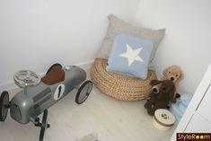 mommo design: IKEA HACKS - Alseda footrest in the reading nook