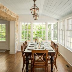 Sunroom Dining Room Astonishing Dining Sunroom Designs That Home intended for sunroom dining room ideas regarding Comfortable Sunroom Dining, Dining Room Walls, Small Dining, Dining Room Design, Dining Room Furniture, Dining Room Windows, Dining Tables, Dining Area, Sunroom Kitchen