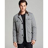 Kent & Curwen Diamond-Quilted Jacket $695->$417 @Sharan Sagoo's