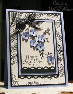 .Love this hand-made card idea!