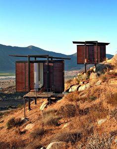 Big Ideas, Small Buildings: Some of Architecture's Best, Tiny Projects,Jorge Gracia, Endémico Resguardo Silvestre, Valle de Guadalupe, Ensenada, Mexico. Image © Undine Pröhl/TASCHEN