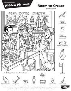 Hidden Images, Hidden Words, Craft Activities For Kids, Crafts For Kids, Coloring Sheets, Coloring Pages, Highlights Hidden Pictures, Hidden Pictures Printables, Hidden Picture Puzzles
