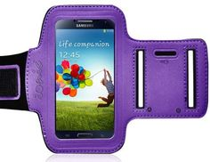 Pretty cool ~ Ionic ACTIVE Sport Armband Case for Samsung Galaxy SIV S4 i9500 2013 Model (ATT, T-Mobile, Sprint, Verizon)(Purple) by CrazyOnDigital, http://www.amazon.com/dp/B00BOYTUG6/ref=cm_sw_r_pi_dp_Q.sPrb10J6GA1