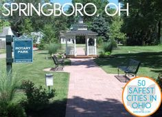 """8. Springboro  This affluent suburb of Cincinnati was recently ranked the 42nd best place to live in America by """"Money Magazine."""" Its per capita income is the highest in southwest Ohio and has steadily risen census to census. It was also the first city in Ohio to erect an Ohio Underground Railroad Historic Marker as part of the 4th Annual Ohio Underground Railroad Summit."""