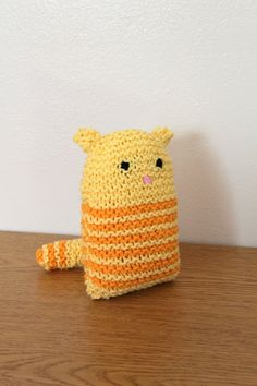 The Fuzzy Square: Striped Kitty