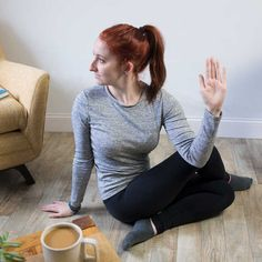 seated-spinal-twist Relieve Gas Pains, Relieve Gas And Bloating, How To Relieve Stress, Getting Rid Of Gas, Trapped Gas, Passing Gas, Gas Relief, Stretches