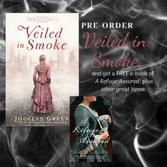 Get ready for The Windy City Saga to kick off with a novel of the Great Fire of Chicago! Pre-order #VeiledinSmoke from any retailer and get a free ebook of A Refuge Assured, plus free downloadable graphics and exclusive access to a deleted prologue! Offer good until 2-3-2020.