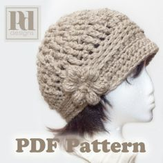 crochet hat pattern.