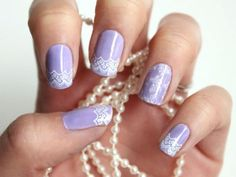 Wedding Nails: Bridal Nail Designs & Manicures You Must Try http://www.ivillage.com/wedding-nails-bridal-nails-nail-art-designs/5-a-529600#