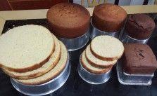 Receita Pão de ló perfeito com 4 ingredientes
