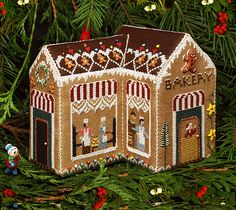 The Victoria Sampler - Gingerbread Bakery - Gingerbread Village no. 5