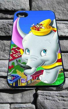 Disney dumbo design available for iPhone 4/4s, iPhone 5/5S/5C/6, Samsung S3/S4/S5 Unique Case *76* - PHONECASELOVE