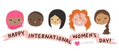 """""""Happy International Women's Day from your friends at The Empowerment Project!"""" Posted on Tumblr.com by itisreallyeasytobeafeminist."""
