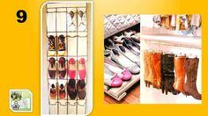 15 Ideas para guardar tus zapatos