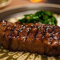 Try this Dragons Breath Grilled Beef with Blanchan Spinach recipe by Chef Adrian Richardson. This recipe is from the show Secret Meat Business.