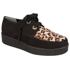 Creeper Cravo & Canela Preto e #Onça #AnimalPrint