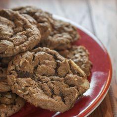 German Chocolate Cookies @keyingredient #cake #chocolate