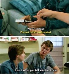 Twitter / GusOfficial_: Flirting at its best. #tfios ...