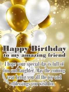 This all-inclusive post will satiate your need for happy birthday wishes for friends, Best birthday messages in hindi & Romantic bday wishes greetings. Birthday Wishes For A Friend Messages, Happy Birthday Quotes For Friends, Happy Birthday Wishes Cards, Messages For Friends, Birthday Quotes For Daughter, Birthday Wishes Quotes, Best Birthday Wishes, Happy Friends, Birthday Sayings
