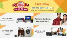 Amazon India has launched this year's Great Indian Sale 2017 today which brings exciting offers and deals on smartphones, consumer electronics, books, and across all products.