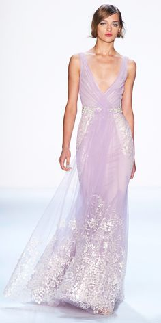 Badgley Mischka's Pale Lavender Gown - The Top 10 Pins of 2013 - What's Right Now - Fashion