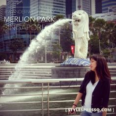 #WanderWednesday - Merlion Park, Singapore  #travel #asia #wanderlust #singapore   More photos on http://stylespresso.com